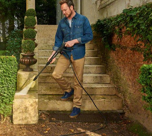 best pressure washer for block paving