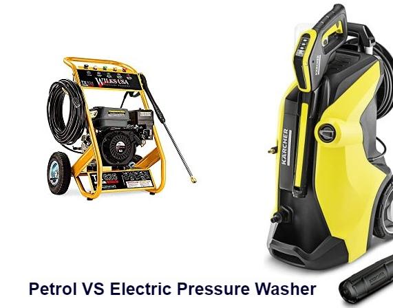 Petrol VS Electric Pressure Washer