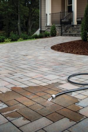 how to clean block paving with pressure washer
